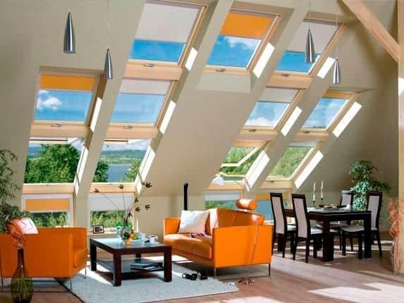 Več oken pomeni več svetlobe.