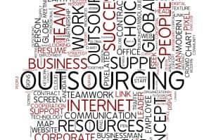 zunanje izvajanje outsourcing