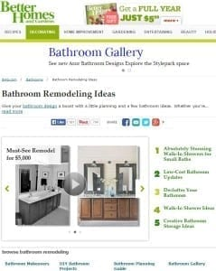 bhg - preureditev kopalnice - prenova kopalnice - ideje - slike