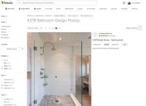 houzz dizajn kopalnice - prenova kopalnice - ideje - slike