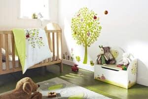 otroška soba ideje barva stene 2322