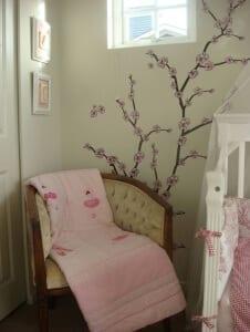otroška soba slikopleskar barva stene ideje 12