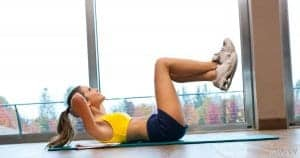 Primer vaje za trebušne mišice