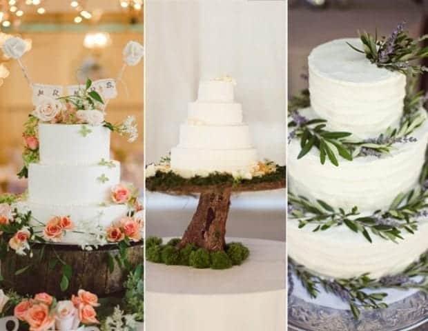 Nature Fondant Motif Cake Design