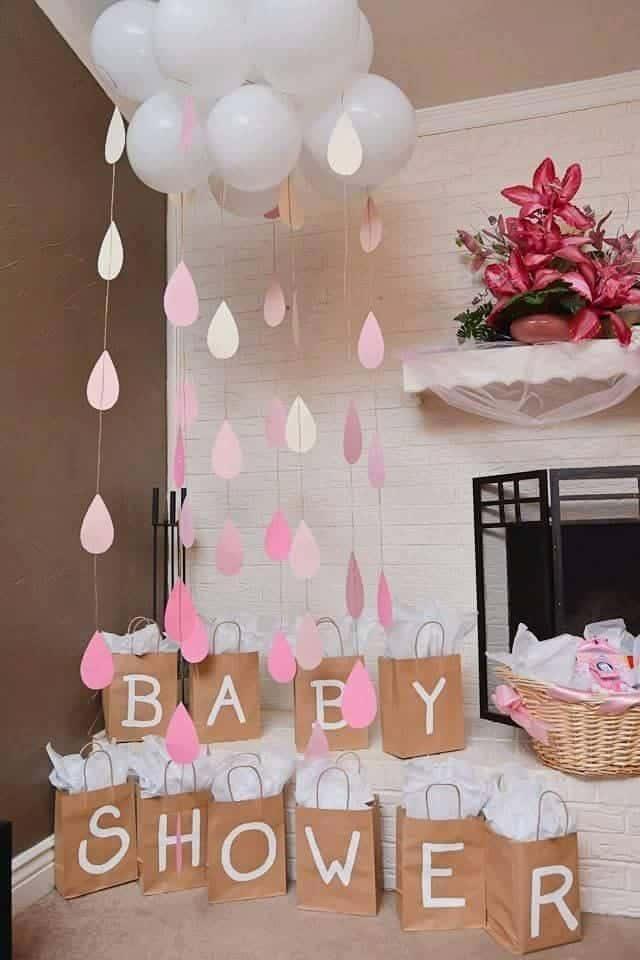 Baby shower dekoracija