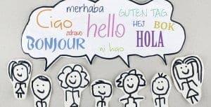 Učenje novega jezika - pozdravi