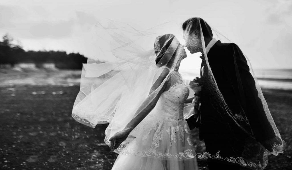 fotografiranje poroke - Primer umetniške poročne fotografije