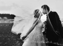 Primer umetniške poročne fotografije