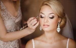 Make-up triki za neveste - primer ličenja