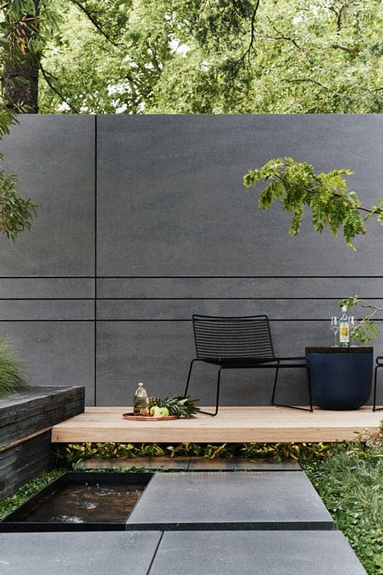 moderna montažna betonska ograja cena