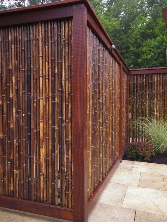 ograja iz bambusa cena