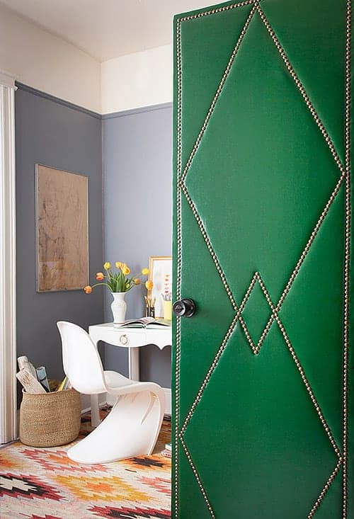 unikatna zelena vrata ideje 6