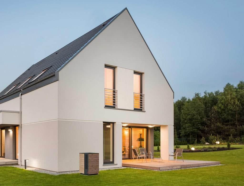 toplotna črpalka cena arhitektura