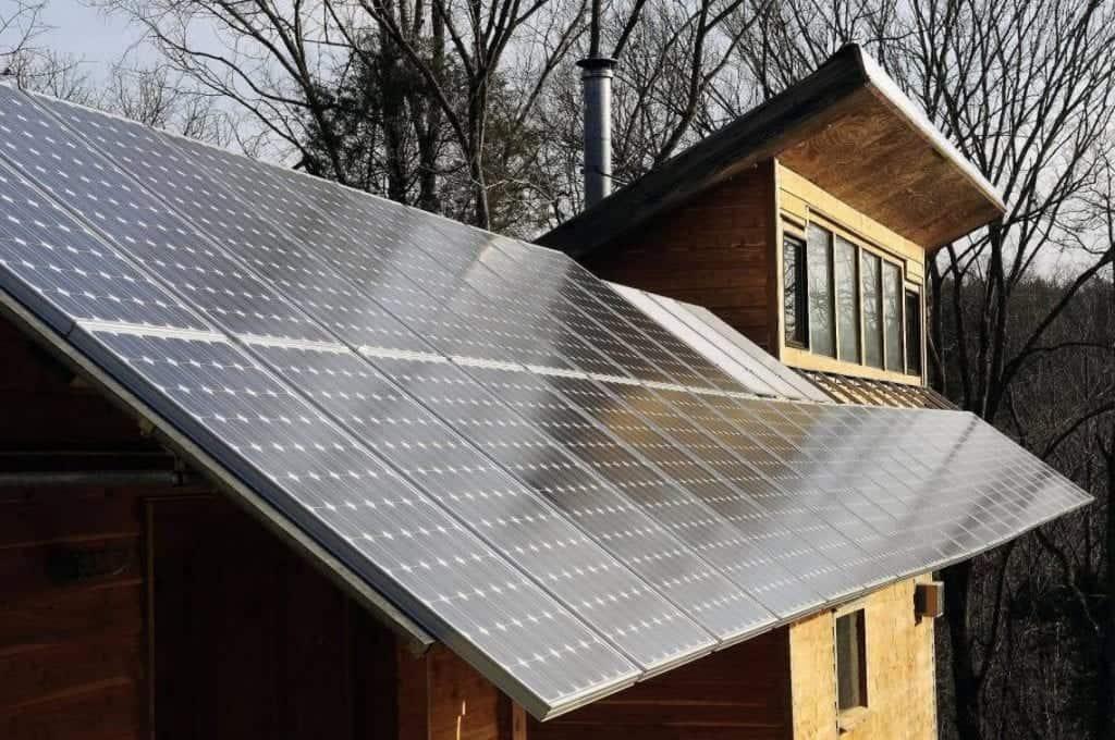 sončna elektrarna cena počitniška hišica vikend