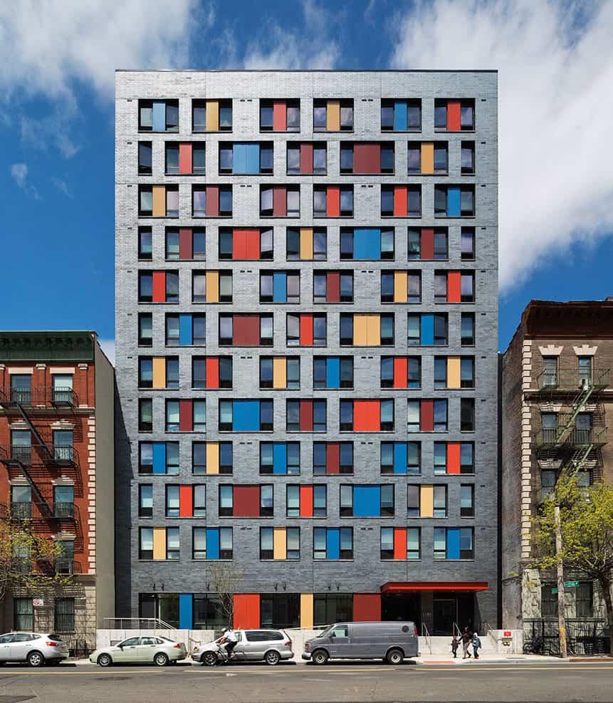 Izbor barvnih fasad-z-barvami