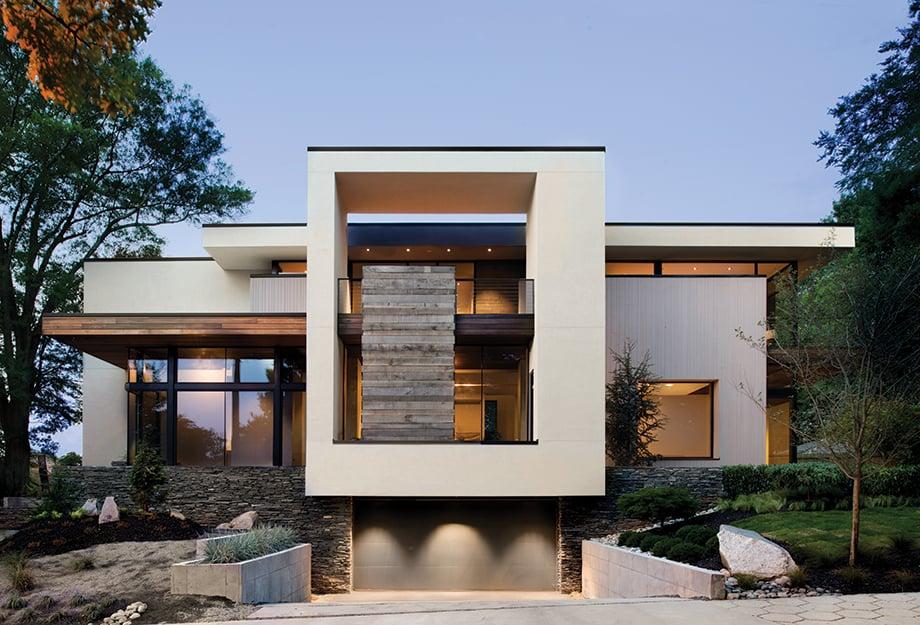 moderna-gradnja-hise-z-ravno-streho