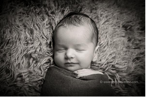 Fotografiranje novorjenčka.