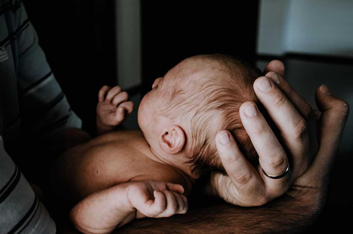slikanje novorojenčkov od blizu