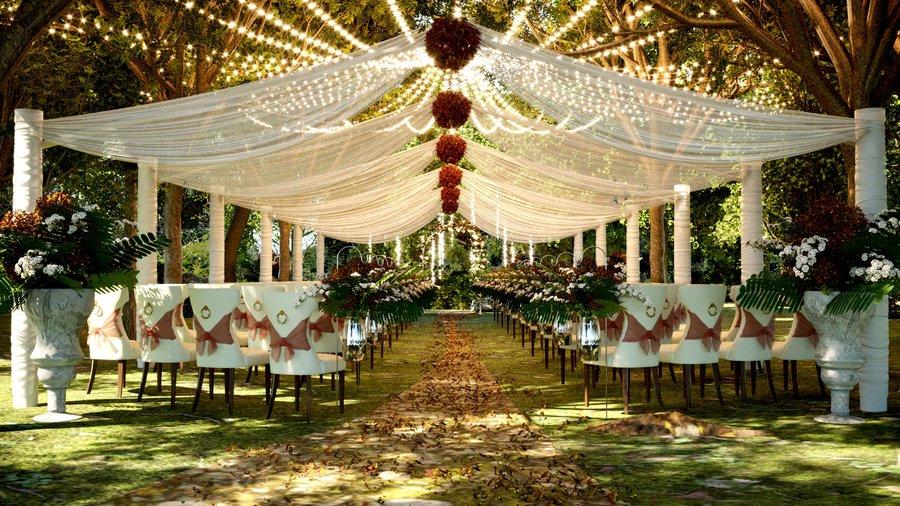 poroka pod šotorom