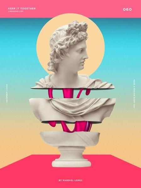 grafični poster