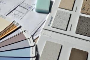 Pri izbiri barv in materialov se posvetujte z notranjim oblikovalcem.