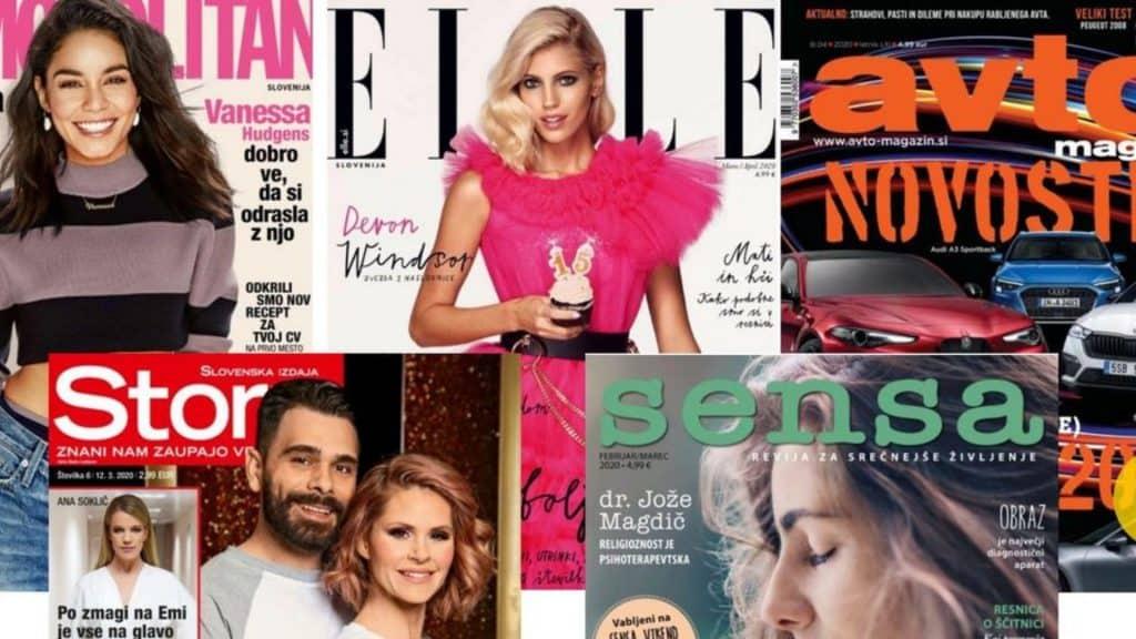 oglaševanje v revijah