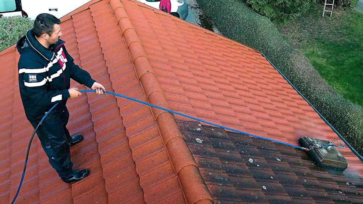 visokotlačno čiščenje strehe cene