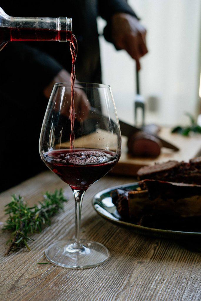 vino in food pairing ujemanje k hrani