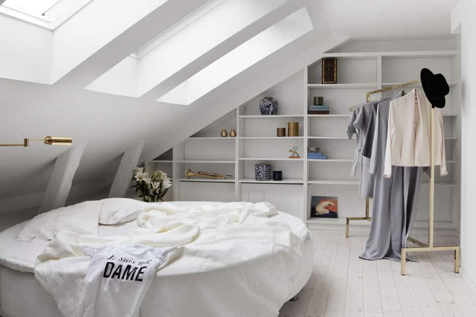 okrogla postelja