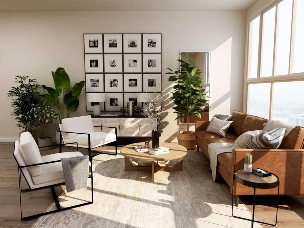sodobno moderno stanovanje
