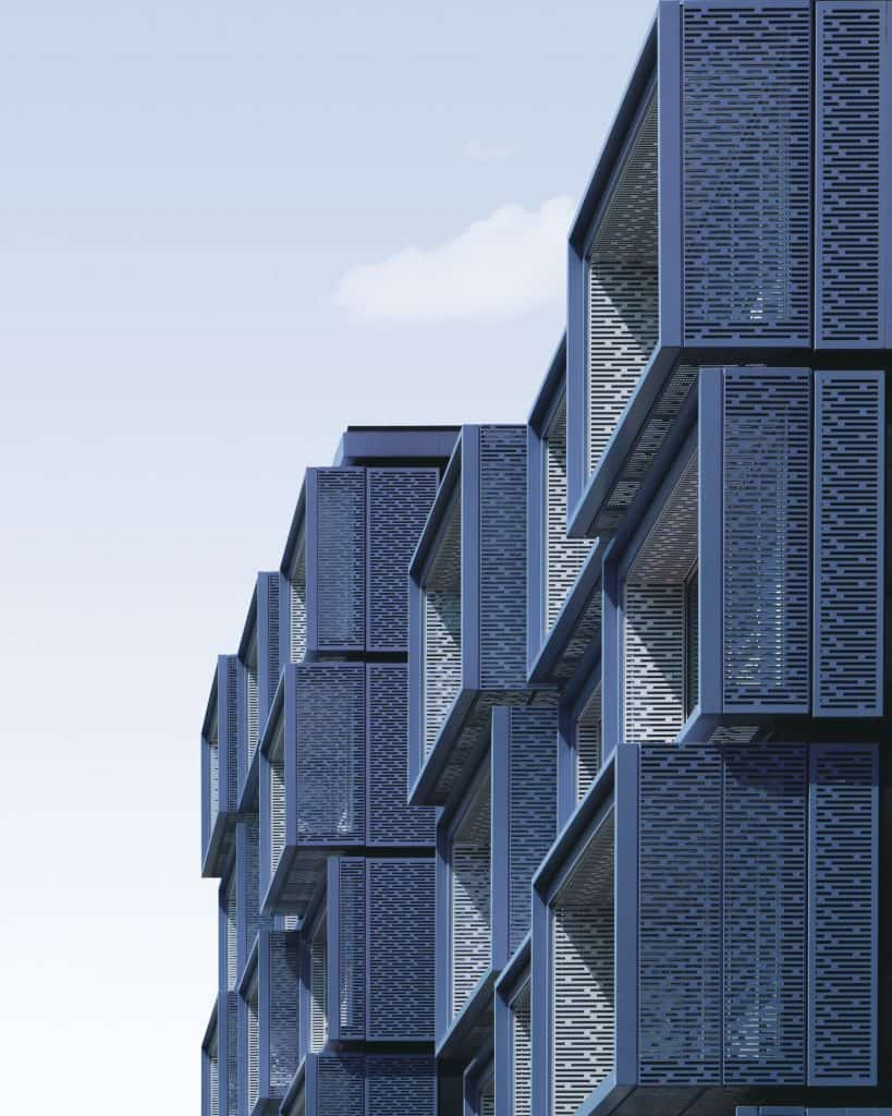 moderna stanovanja blok