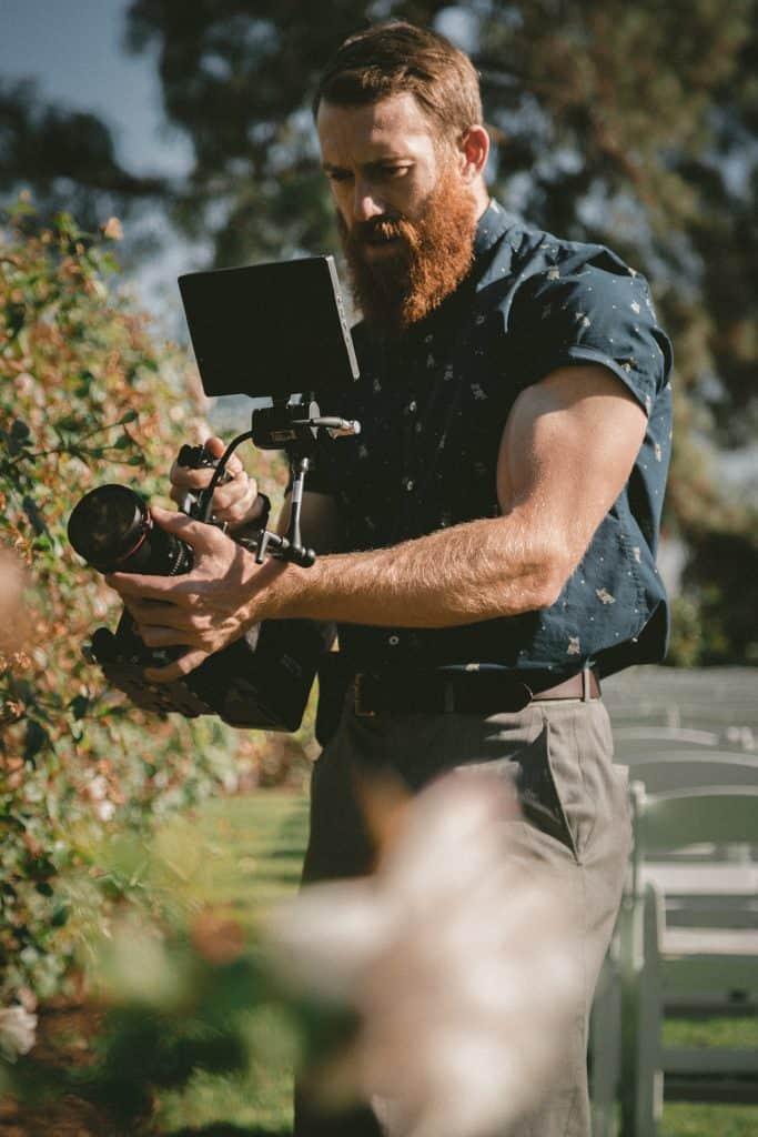 videograf, snemanje poročnega dne