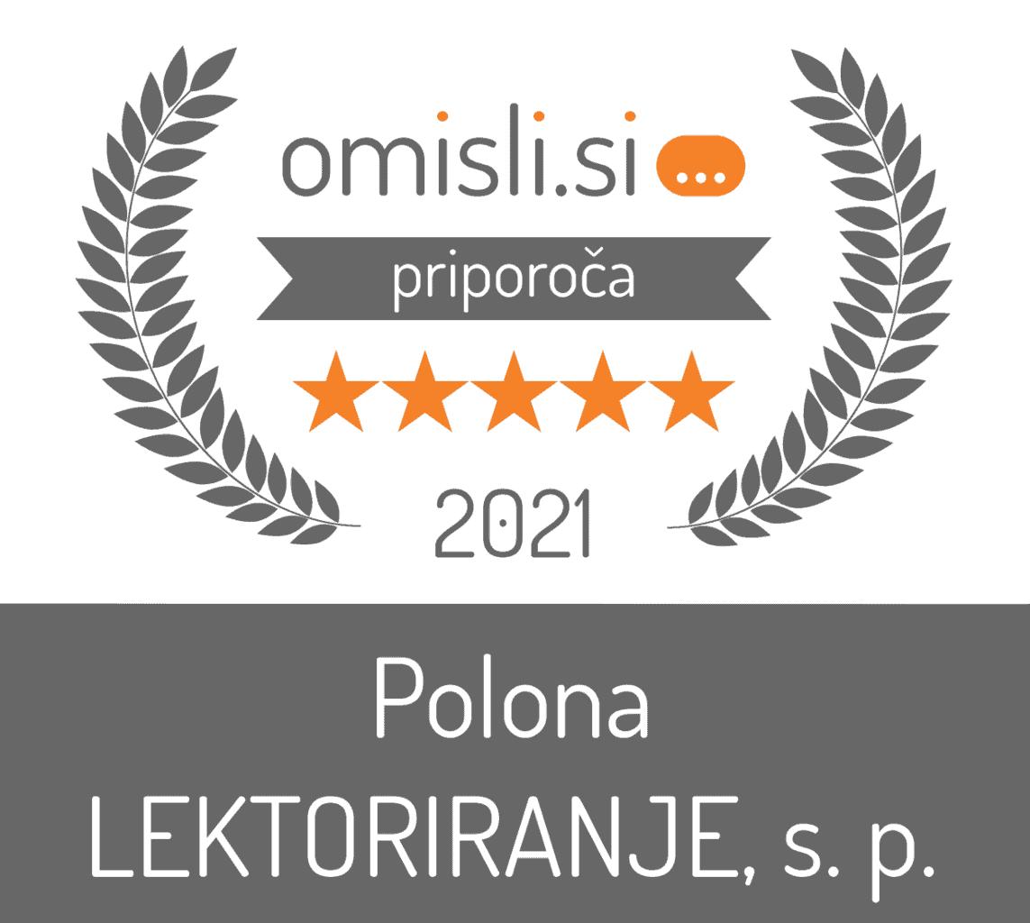 Polona LEKTORIRANJE, s. p. - Pisanje besedil, Lektoriranje besedil, Prevajanje