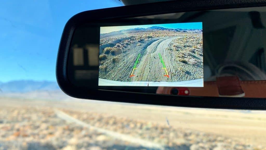 Vzvratno kamero v avtu lahko tudi dokupite.