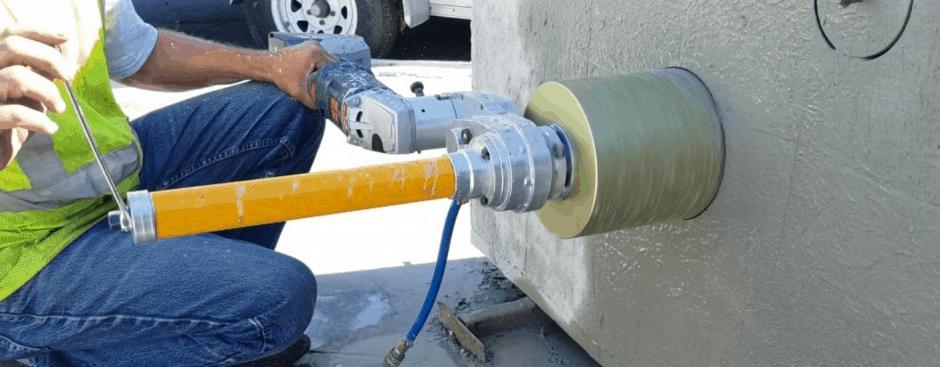 vrtanje betona stene