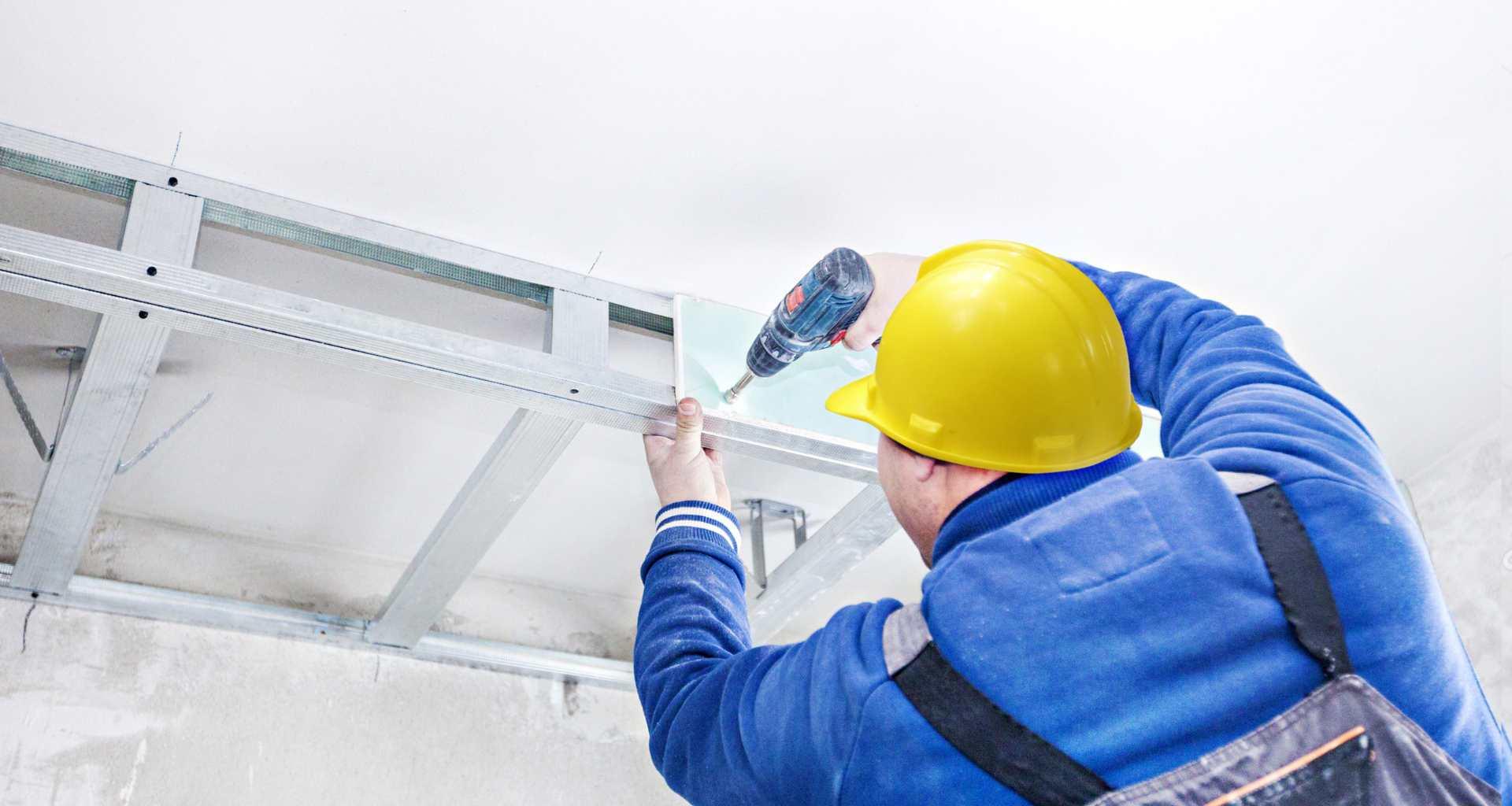 Potrebujete knauf stene ali spuščen strop? Pomagali vam bomo najti pravega mojstra za montažo knaufa